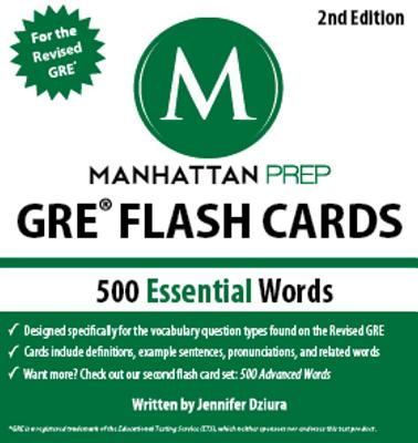 500 Essential Words By Manhattan Prep (COR)